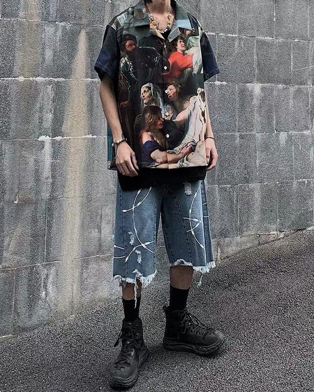 ミラクルザビエル半袖シャツの画像4